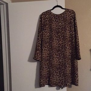 J crew long sleeve dress